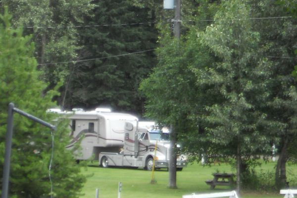 We have room for big rigs!